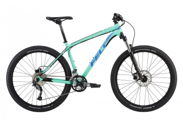 Vtt semi rigide felt dispatch 7 70 shimano acera 9v bleu 2018 xs 157 168cm