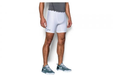 Under Armour HeatGear Armour 2.0 Compression Shorts White