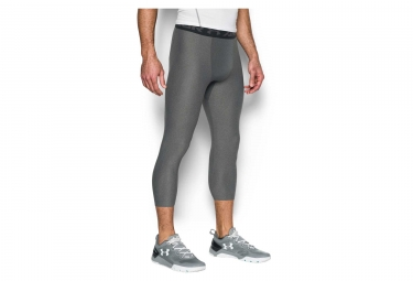 Collant 3/4 de Compression Under Armour HeatGear Armour 2.0 Gris