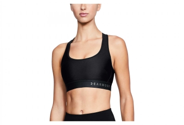 Under Armour Armour Mid Crossback Sports Bra Black