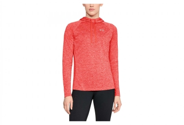 Under Armour Tech Twist Women Hoodie Sweat After Burn Red