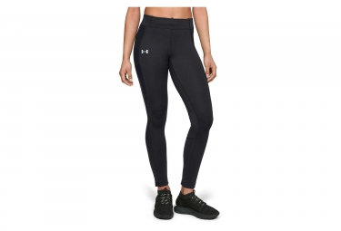Under Armour Coldgear Run Storm Women Long Tights Black