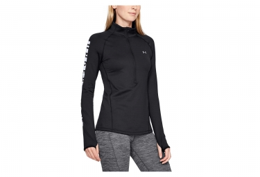 Under Armour ColdGear Armour Graphic Women Pullover Black