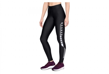 Under Armour HeatGear Armour Graphic Women Long Tights Black