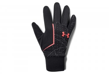 Sous-Gants Under Armour Storm Run Liner Noir Orange