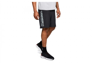 Short Under Armour Woven Graphic Wordmark Noir