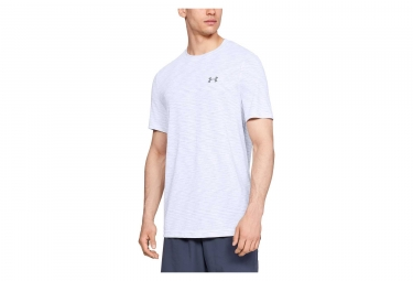 Maillot Manches Courtes Under Armour Vanish Seamless Blanc