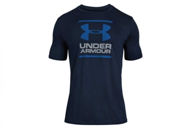 Maillot Manches Courtes Under Armour GL Foundation Bleu