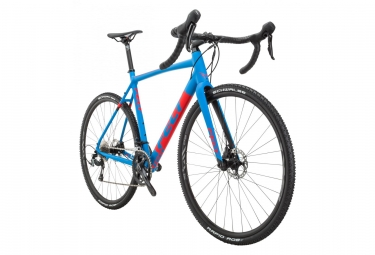 Vélo de Cyclocross Felt F40X Shimano Tiagra 10V 2018 Bleu / Rouge