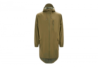Rains Parka Waterproof Jacket Sage