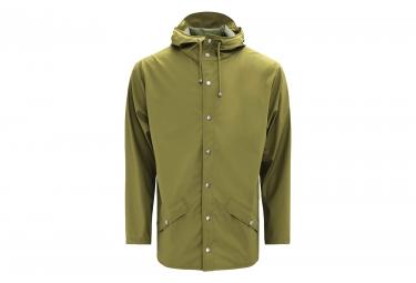 Rains Jacket Deep Sage