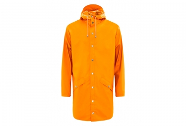 Veste Imperméable Rains Long Jacket Fire Orange