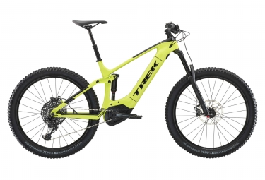 Hybrid Fullsuspension Trek PowerFly LT 9.7 Plus  Sram NX Eagle 12V 27.5'' Plus Vert / Noir 2019
