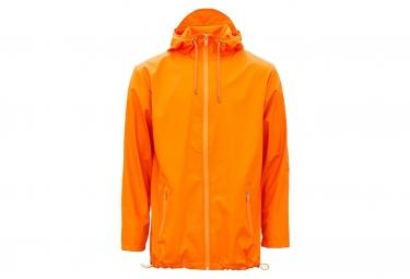 Rains Breaker impermeable chaqueta fuego naranja