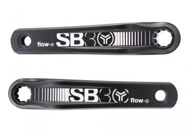 SB3 Flow-E Crankset Isis For E-Bike (Bosch) Black