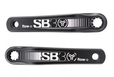 Pédalier SB3 Flow-E Pour VAE Bosch Isis Noir