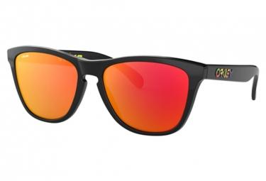 Paire de Lunettes Oakley Frogskins VR46 Polished Black / Prizm Ruby OO9013-E655