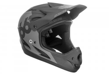 Casque integral 661 sixsixone comp noir l 59 60 cm