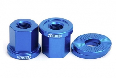 Vocal BMX Achsmuttern 14mm Blau