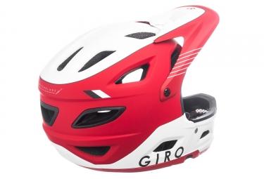 Casque avec Mentonnières amovible Giro Switchblade Mips Rouge