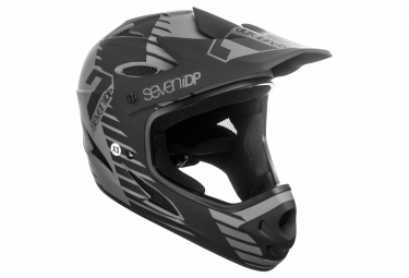SEVEN M1 Full Face Helmet M1 Tactic Black/ Grey