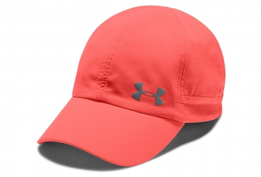 Under Armour Fly-By Women Cap After Burn Red