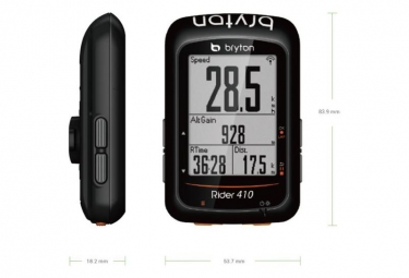 BRYTON Compteur GPS RIDER 410H