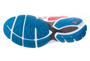 MIZUNO WAVE RIDER 22 Rouge Bleu Homme