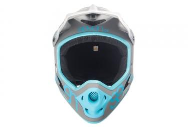 Casque Intégral Seven M1 Gris Bleu