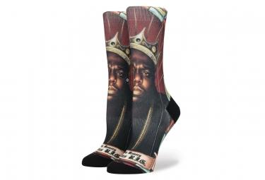 Stance Socken Praise BIG Schwarz / Rot / Multi