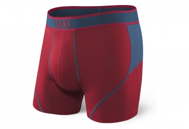 Saxx Kinetic Boxer Red / Blue