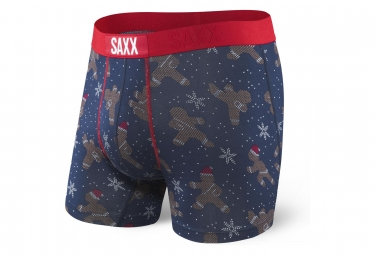 Boxer Saxx Vibe Ging-ning Bleu / Rouge