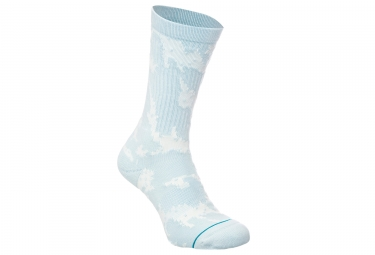 Paire de Chaussettes Stance Pixel Palms Light Blue