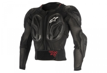Veste de protection enfant alpinestars bionic action noir rouge s m