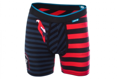 Boxer Stance Travel Vibes Bleu / Rouge