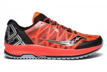 Chaussures de Trail Saucony KOA TR Noir / Rouge