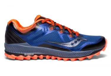Saucony PEREGRINE 8 Blue  Black  ViziRed