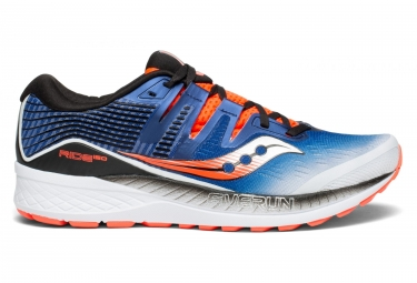 Saucony ride iso blanc bleu orange 43