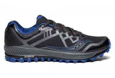 Zapatillas Saucony Peregrine 8 GTX para Hombre Negro / Azul / Gris
