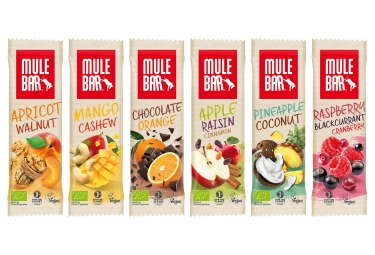 MuleBar Vegan Energy Bars Discovery Pack (30 bars)