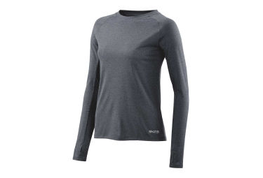Maillot Manches Longues Skins Active Siken Gris Femme