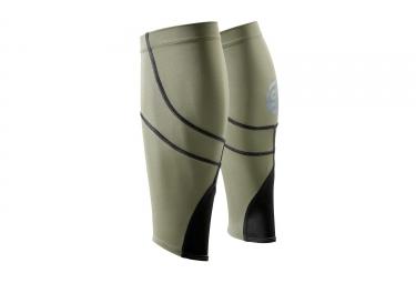 Skins Compression Sleeves Essentials Mx Khaki Black Unisex