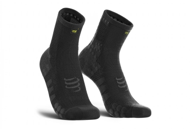 Chaussettes compressport pro racing v3 0 run black edition 42 44