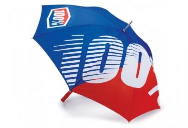 Parapluie 100% Premium - Bleu / Rouge
