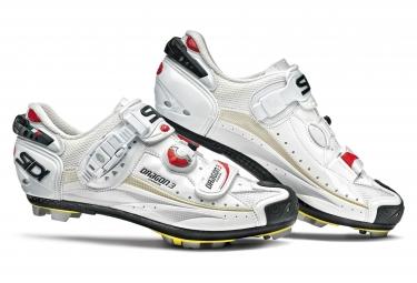 Chaussures vtt sidi dragon 3 srs blanc 42