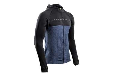 COMPRESSPORT 3D THERMO Hoodie Black Edition