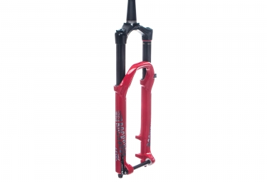 Fourche rockshox lyrik rc2 debonair 27 5 boost 15x110mm deport 46mm rouge 2019 150
