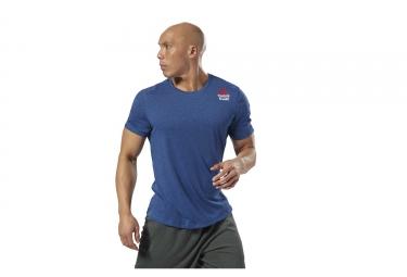 Maillot Manches Courtes Reebok CrossFit Games Move Bleu