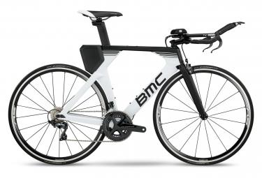 Velo triathlon bmc timemachine tm02 shimano ultegra 11v blanc noir 50 cm 168 173 cm