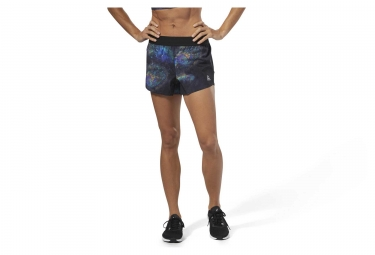 Reebok Epic 2-en-1 Mujeres Shorts Black Oil Slick
